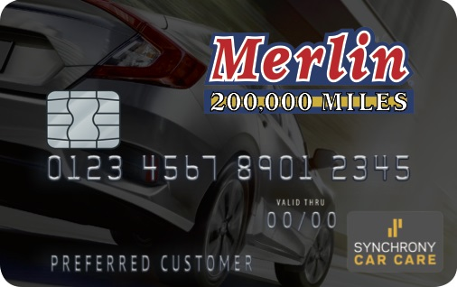 Merlin 200 000 Mile Shops Financing