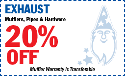 Exhaust-20%Off