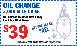 Oil Change - BOGO