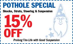 Pothole-15%off