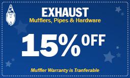 Exhaust-15%Off
