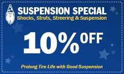 Shocks, Struts, Steering & Suspension - Pothole Special